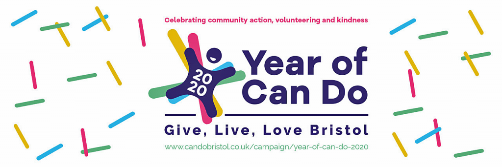 Year of Can Do Bristol Logo Banner