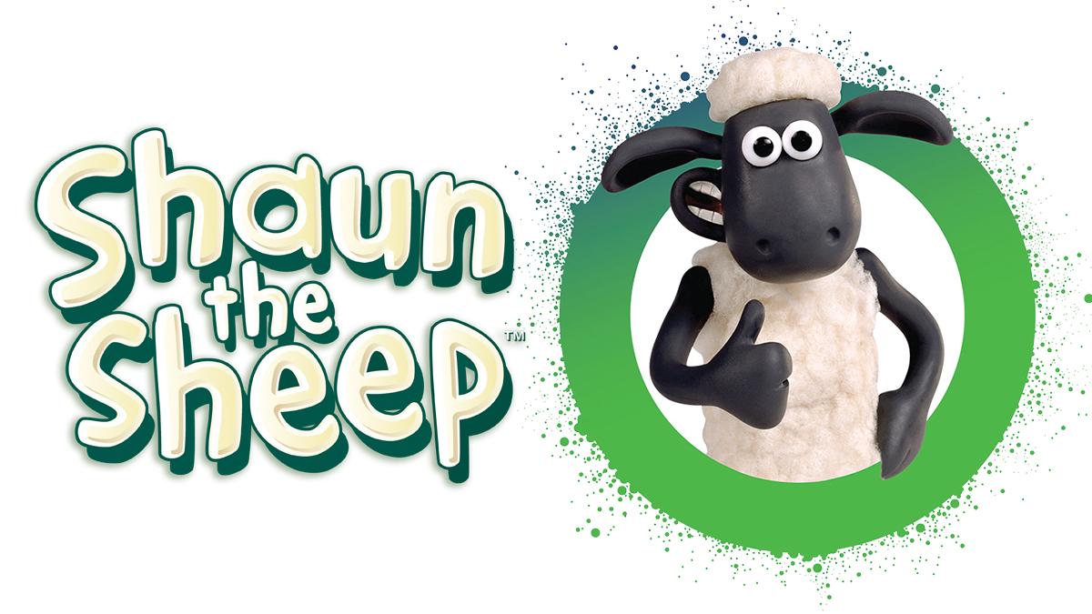 Shaun the Sheep logo and Bristol flare