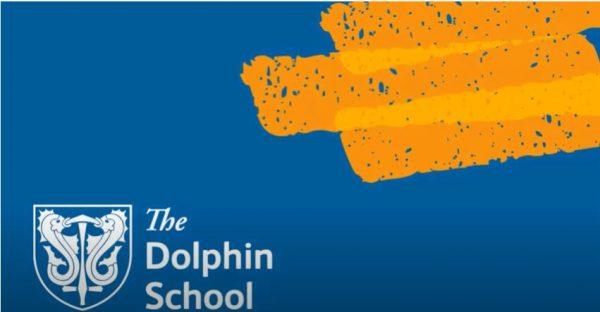 The Dolphin School logo