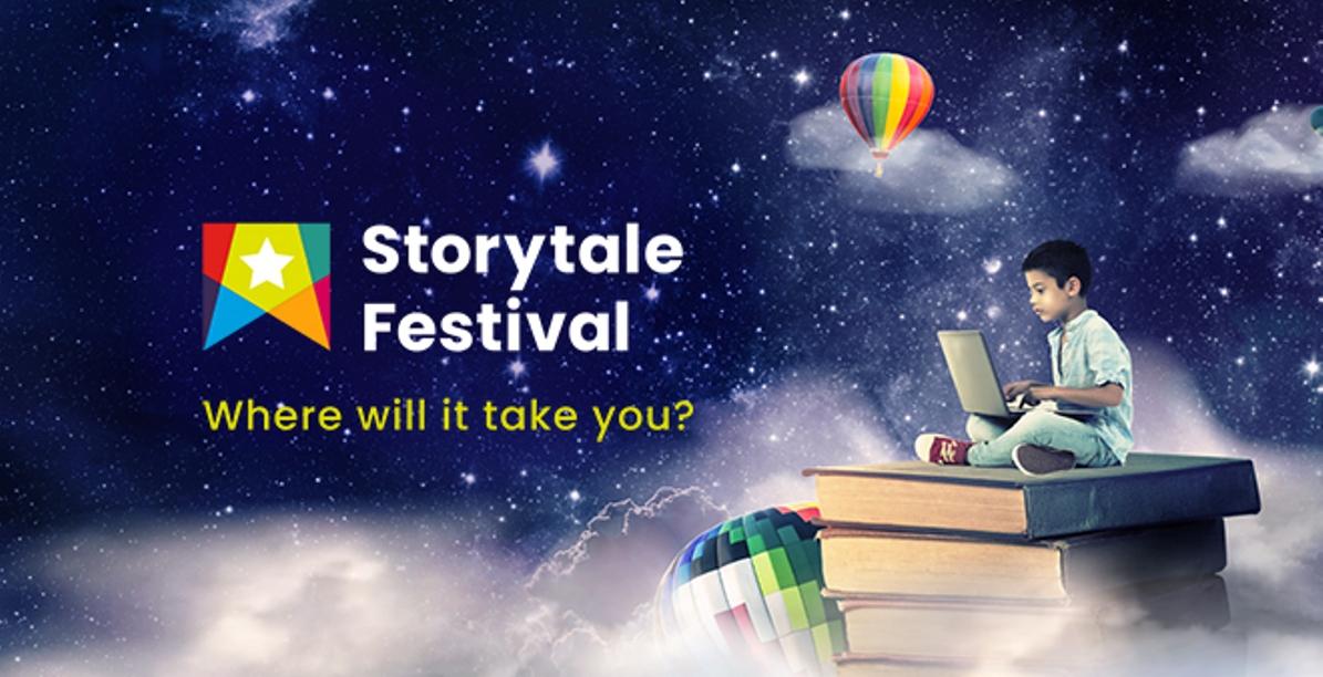 Storytale Festival flyer