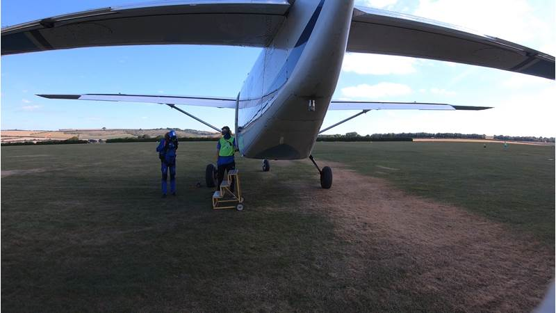 A photo of a plane